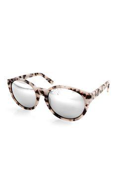 Havana Mirrored Acetate Sunglasses