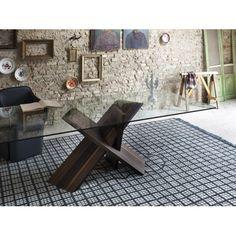Tavoli In Cristallo Con Base In Legno.40 Best Tavoli Scrivanie Consolle Images Furniture Design