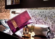 Etihad Airways Stylish New First Class Amenity Kits Designed By Christian Lacroix And Omorovicza