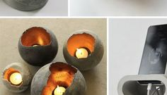 20 Cool DIY Concrete Project Ideas
