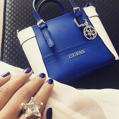 We love how this Macy's fan styled the GUESS Delaney tote with a matching mani! Did you know that when you tag a pic with #macyslove on Instagram or Twitter there's a chance that you could be featured here or on macys.com? Share your fave finds now!