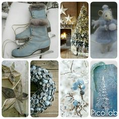 Christmas Blue by Walking on Clauds