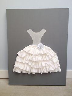 Ruffles dress art!