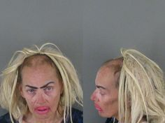 This mugshot...smh. North Carolina's finest.