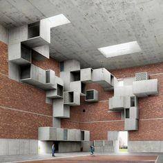 Architecture by Filip Dujardin