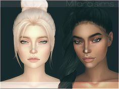 Mia Skin Overlay Created by Milarasims Created for The Sims 4 Sims 4 Mods, Sims 4 Game Mods, The Sims 4 Skin, Pelo Sims, The Sims 4 Cabelos, Sims 4 Cc Kids Clothing, Sims 4 Cc Shoes, Sims 4 Cc Makeup, Mod Makeup