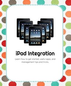 This is the perfect resource for any school ready to begin to implement ipads into 1:1, 1:2 or small sets of ipads per class. The full description of the resource is included in this video linked here.  ipad Implementation Guide  The ideal age range is K-2.