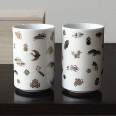 arenot|HASAMI YAKI(波佐見焼)takaradukushi pair cup(宝づくし ペア湯呑)
