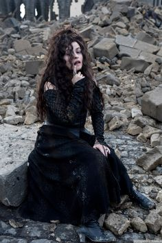 Harry Potter and the Deathly Hallows part 2 - Behind the scenes - bellatrix-lestrange Photo