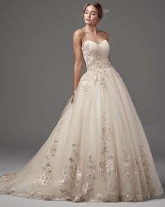 Vestidos de novia princesa. ¡Consigue un look dulce y romántico para tu matrimonio!