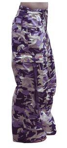 Girly Basic UFO Pants (Purple Camo)