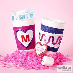 Offer a Cup of Kindness: Treat a teacher to a warm sip, a sweet sentiment -- and a reusable cup cozy.