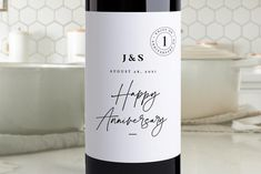 Personalized Wine Labels, Personalized Wedding Gifts, Wine Advent Calendar, Wedding Wine Labels, Wedding Anniversary, Anniversary Ideas, Wine Label Design, Wine Bottle Labels, Party Market