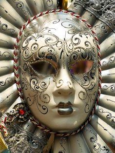 Venetian Mask   Venetian mask seen in a shop in Venice   Gerry Balding via Flickr