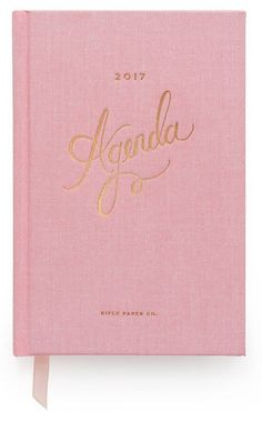 8 Gorgeous + Inspiring Planners + Agendas | Poppytalk