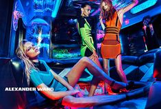 ALEXANDER WANG SPRING/SUMMER 2015 Campaign | The Fashionography