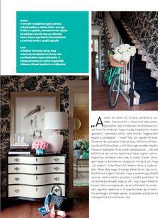 Hungarian decor magazine Polgari Otthon, April 2014 | tobifairley.com