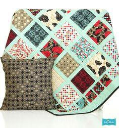 Riley Blake Designs  avec les charms pack de noel