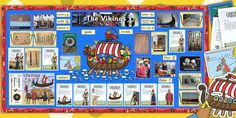 Ready Made Vikings Display Pack - ready made, viking, display - also more viking resources for your classroom Class Displays, School Displays, Classroom Displays, Vikings Ks2, Vikings For Kids, Display Boards For School, Primary History, Anglo Saxon History, Classroom Pictures