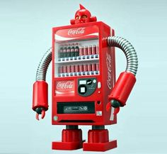I, Coca Cola Robot