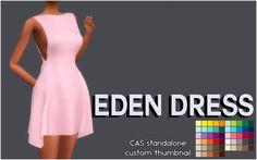 Simsworkshop: Eden dress by Sympxls • Sims 4 Downloads