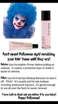 Great for Gentle recital makeup removal, too!