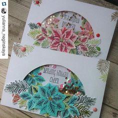 This one stopped me in my tracks! #Repost @yulianna_neginskaya ・・・ Двое из ларца:))) открытку с мятными пуансеттиями сделала вчера во время трансляции в перископе:) спасибо всем за поддержку!:) сегодня я сбегаю за город, так что транслировать будет некогда:) #stamps #stamping #кардмейкинг #штампинг #штампы #скрап #скрапбукинг #открыткимосква #открыткиназаказ #scrapbooking #scrap #scrapbook #cardmaking #coloring #newyear #новыйгод2016 #новыйгод #wplus9stamps #wplus9 #dawnplus9 @dawnwplus9