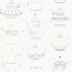 "Kitchen & Bath Resource III Valie Vintage 33' x 20.5"" Teapot 3D Embossed…"