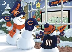Football Memes, Football Stuff, Cubs Team, Nfl Packers, Sports Figures, Home Team, Chicago Bears, Vintage Christmas, Mickey Mouse