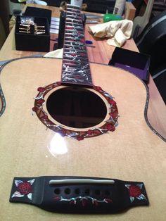 Cystic Fibrosis Guitar BEAUTIFUL~♥