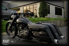 Sweet bagger.  Crazy pipes.