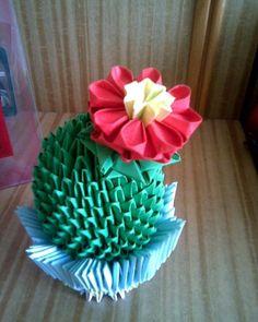 Gallery.ru / Кактус - Модульное оригами - valentina76