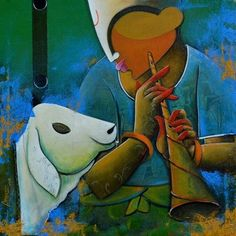 Buy Painting Artwork No by Indian Artist