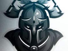 The Spartan Mascot # idea Spartan Logo, American Logo, Knight Logo, People Logo, Esports Logo, Sports Team Logos, Mascot Design, Cute Cartoon Wallpapers, Logo Sticker