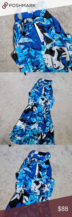 "Parker Floral Ruffle Dress in Gardenia Small: 13"" stretchy waist 36""-40"" length  Medium: 14"" stretchy waist 36.5""-41"" length  N-6 Parker Dresses"