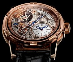 Louis Moinet 1806 -20-Second Tempograph 18K Rose Gold
