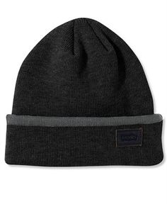 4218d5543f167 Levi s Ribbed Knit Beanie Men - Hats