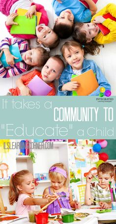 """It isn't enough for a Community to """"Raise"""" a Child, but to also """"Educate"""" a Child. Here's why. 