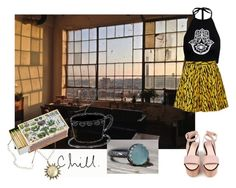 """""""It always need to put a title?"""" by alessandrac90 on Polyvore featuring moda, Cacharel, Shandell's e Topshop"""