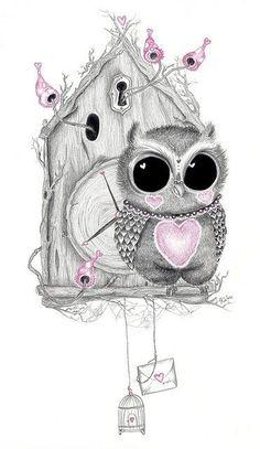 10 Unique Owl Tattoos For Women