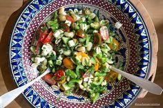 Minestrone - Italienische Gemüsesuppe (Eintopf) - Madame Cuisine Feta, A Food, Food And Drink, Cheese Stuffed Chicken, Cobb Salad, Vegetables, Health, Dressings, Recipes