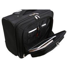 NHL Mojo Tampa Bay Lightning Wheeled Laptop Overnight Bag, Adult Unisex, Size: Small