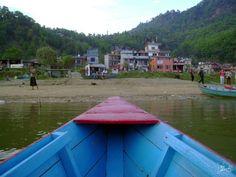 Reaching ashore - boat ride in #Phewa_Lake - #Pokhara #Nepal