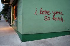 Austin, SOCO While on South Congress, send a photo home to loved ones from the I Love You So Much graffiti sign across Congress Ave from Amy's. South Congress at James St on the side of Jo's coffee shop. Austin Texas, North Austin, I Love You Lettering, Love You So Much, My Love, Graffiti I, Texas Forever, Most Romantic Places, No Rain