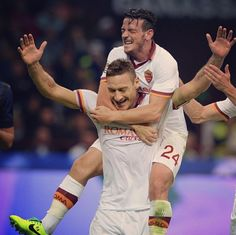 Roma Francesco Totti Alessandro Florenzi AS Roma Serie A