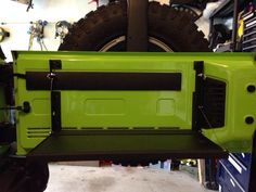 Tailgate Table Rack by K-ROB Offroad - American Expedition Vehicles - Product Forums