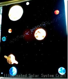 How to Make a Solar System Model at Home for a School ...