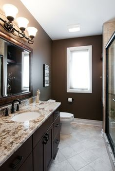 Spare Bath Color Idea Home Addition Design And Remodeling   Elmhurst, Il  Traditional Bathroom