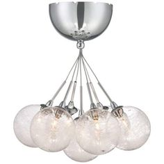 "Possini Euro Honeycomb Glass 11"" Wide Chrome Ceiling Light - #X9155 
