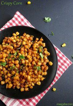 How to make fried crispy corn